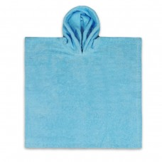 Poncho Licht Blauw